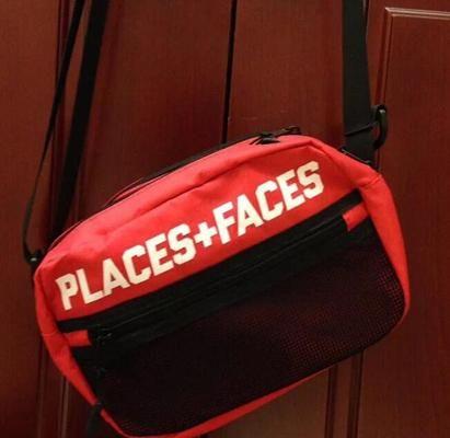533d897dd745 Brand Places+Faces 3M Reflective Skateboards Bag P+F Message Bags ...