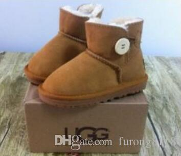 622e27a7930 New Australian UGG kids boy girl children baby warm snow boots juvenile  student snow winter boot EU22-34