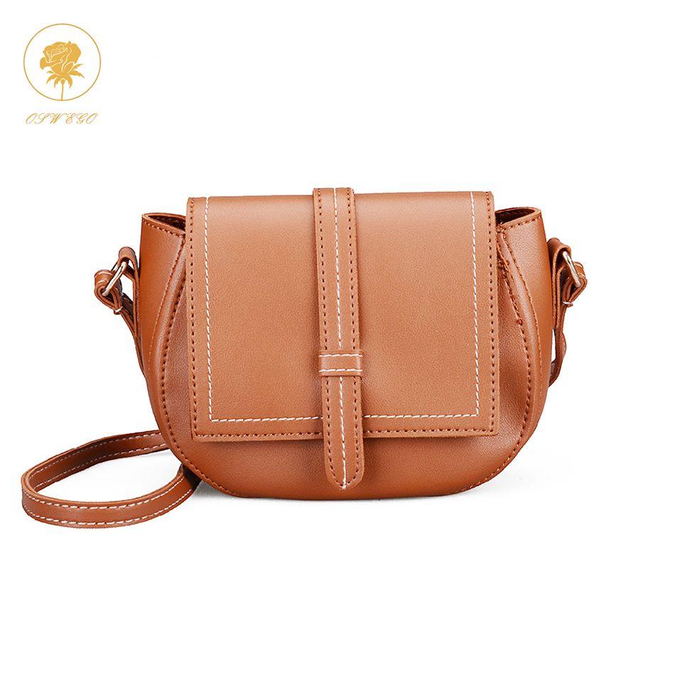 Oswego Handbags Ladies Retro Shoulder Bags Women Messenger Bags Vintage  Hepburn Style PU Leather Top Handle Bag Leather Backpack Clutch Bags From  Dealbag c02ff71b0f4cd