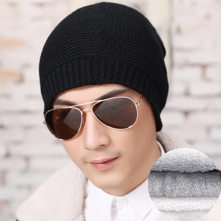 26a3e4f5fb2bb 2019 Beanies Knit Men'S Winter Hat Caps Skullies Bonnet Winter Hats For Men  Women Beanie Warm Baggy Outdoor Sports Hat From Miaoshakuai, $46.76 |  DHgate.Com