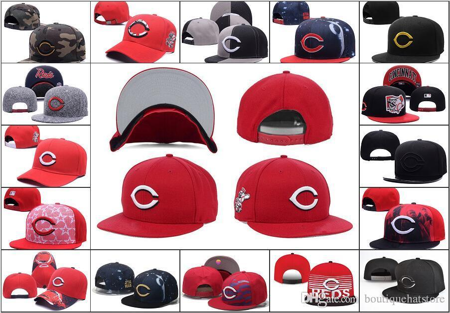 Wholesale Cheap Baseball Snapback Caps Letter Embroidery Logo Sports Team  Baseball Reds Adjustable Hats Bones Chapeu Flexfit Cap Ny Caps From ... 8151add6860