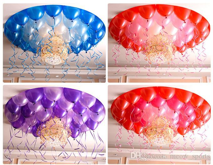 2.2g Decorative Balloons Inflatable Wedding Decorations Air Ball Happy Birthday Party Supplies Balloon Kids Toys