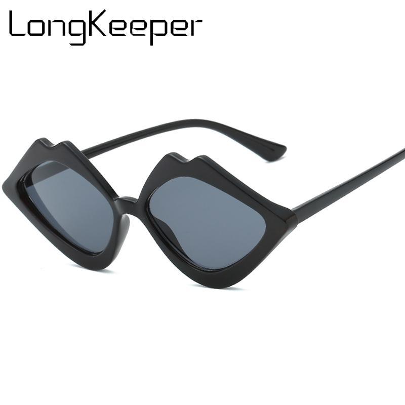 6ed3f0cdf5 Compre Labios Gafas De Sol Mujeres Vintage Damas Retro Diseñador De La Marca  Gafas 90s Para Mujer Gafas De Sol Sombras De Labios En Forma De Gafas De Sol  A ...