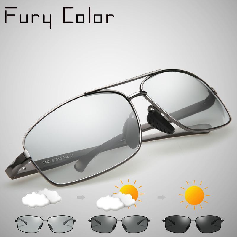 Compre Photochromic Óculos De Sol HD Polarizada Homens Mulheres Condução Óculos  De Mudança De Cor Photochromic Óculos De Sol Oculos De Sol D18102304 De ... 73249f262e