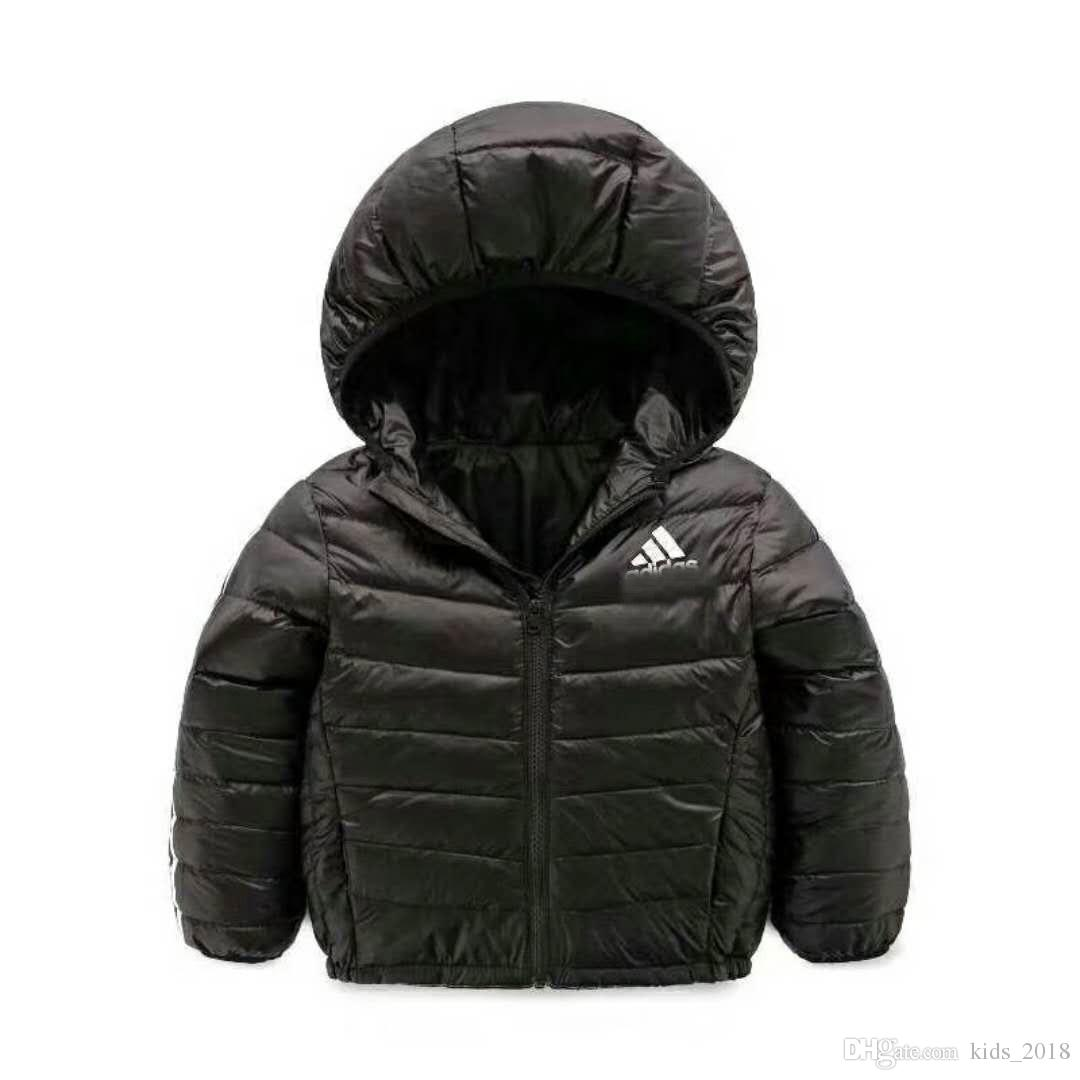 dfd0d2cd8 2018 Brand Down Jacket Light Children S Wear Hooded Casual Wear ...