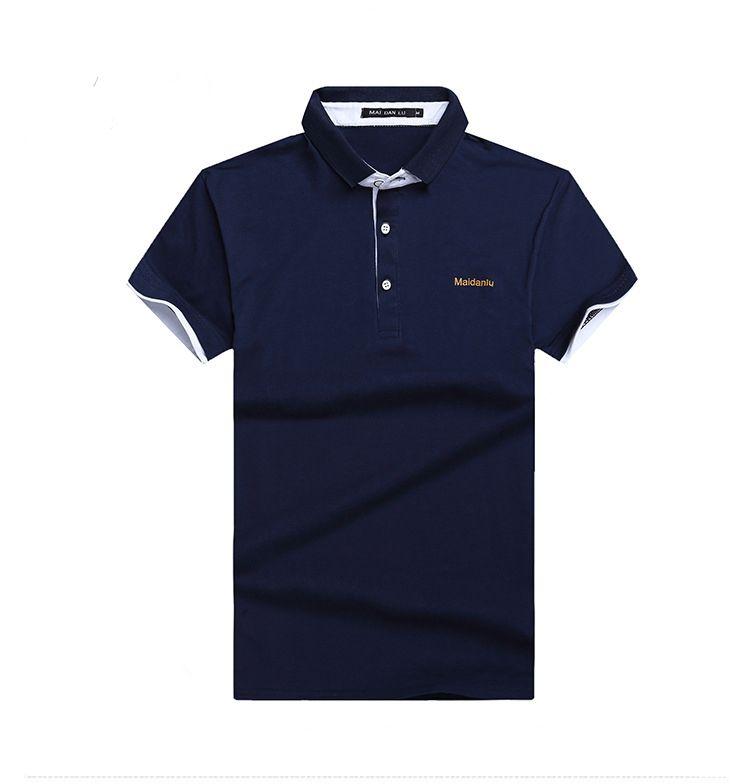 Da Con In Blu Scuro Magliette Uomo Acquista Polo Cotone Scollo A V UzMVpqS