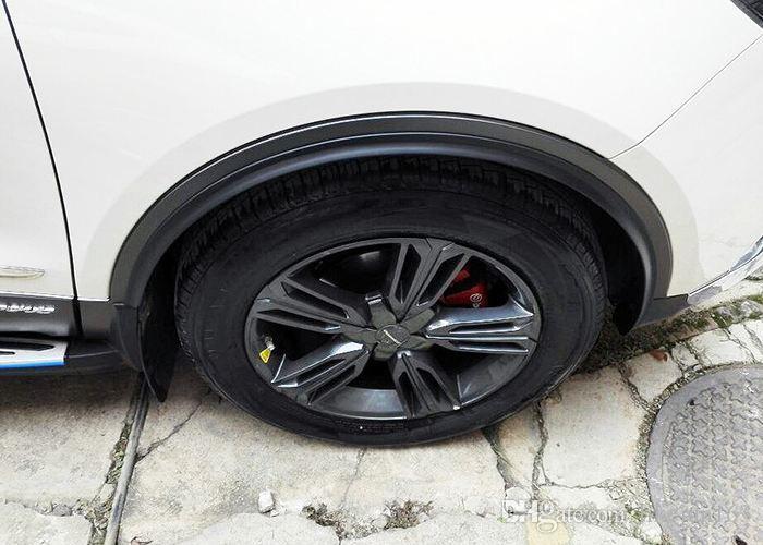 1.5 M Noir Voiture Roue Fender Garniture Protecteur Automobile Bumper Bande Autocollant Styling Accessoires Pièces D'extérieur