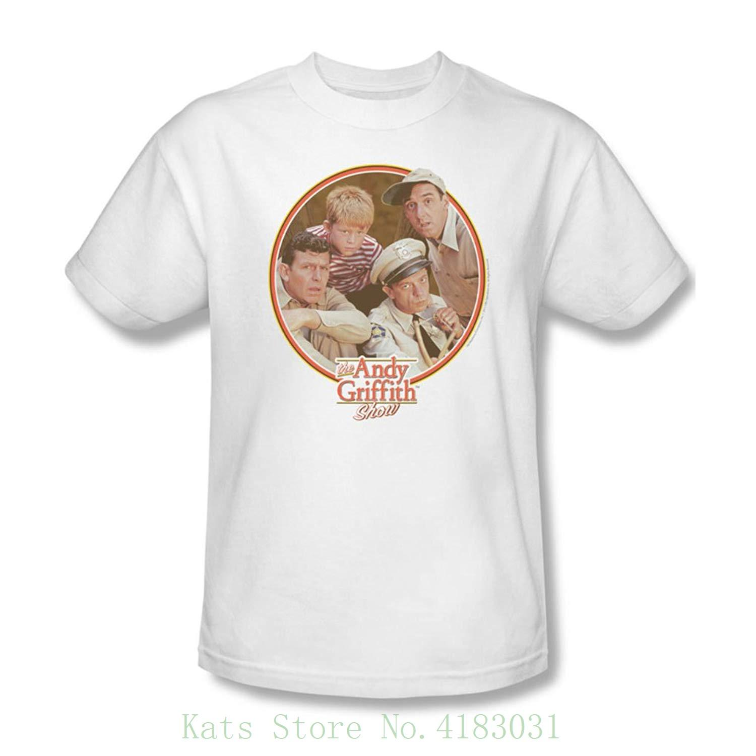 Andy griffith mens boys club t shirt in white men t shirt print cotton short sleeve t shirt online with 20 35 piece on katsstores store dhgate com