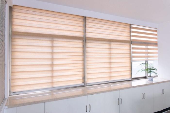 Großhandel Fenster Vorhang Zebra Rollos Für Küche Wohnzimmer Büro ...