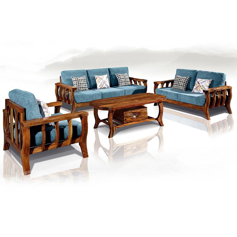 Compre combinaci n de sala de estar muebles de madera for Saga falabella muebles de sala ofertas