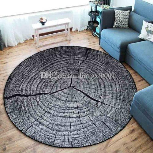 Door Mat 3D Growth Ring Pattern Bathroom Carpet Floor Mat Anti Slip ...