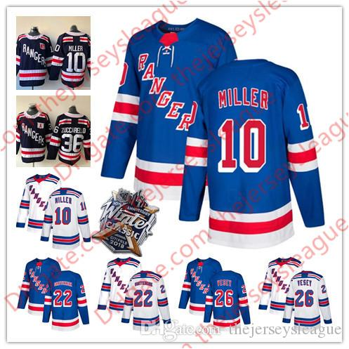 91d02ee89 New York Rangers  22 Kevin Shattenkirk 26 Jimmy Vesey 51 David ...