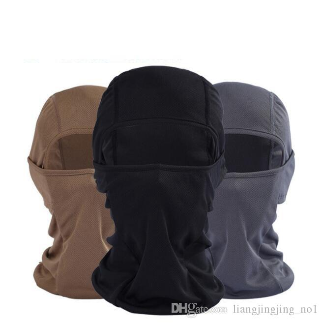 Bicycle Cycling Masks Motorcycle Barakra Hat Cycling Caps Outdoor Sport Ski Mask  CS Windproof Dust Face Mask Bicycle Accessories KKA4433 Cycling Masks CS ... 56df5634e6de
