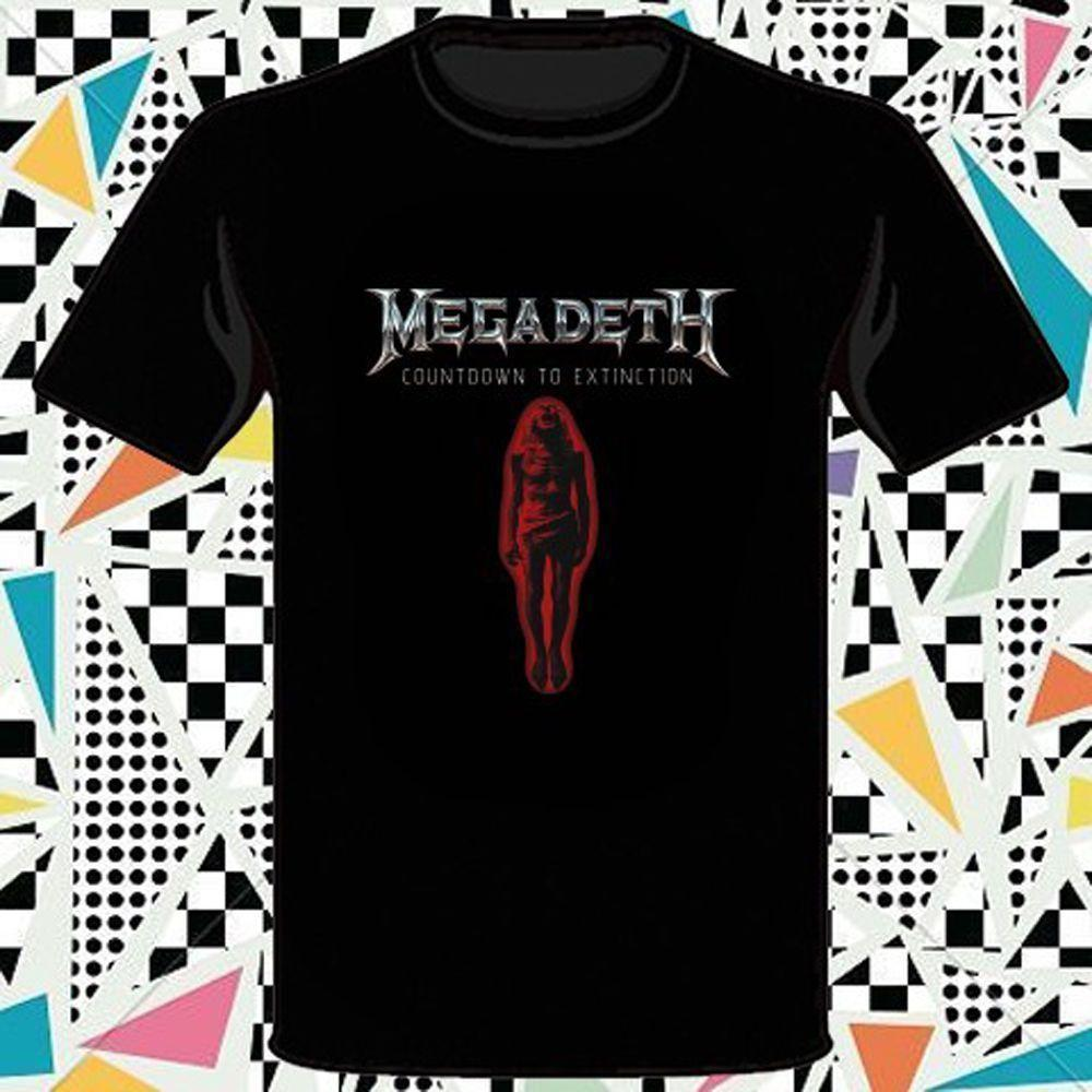 92077d418 MEGADETH Countdown To Extinction Rock Band T Shirt Cool Tee Designs Tees  Shirts Cheap From Amesion2505, $25.02| DHgate.Com