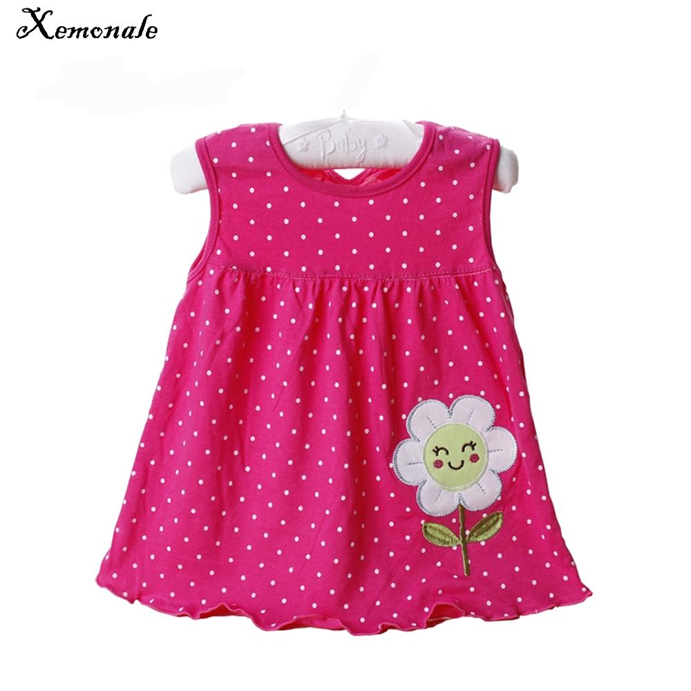 2018 Xemonale 0 24 Months Newborn Baby Girls Dress 2018 New Summer