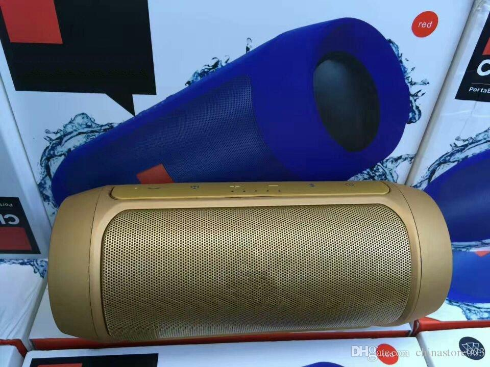 Charge2 + Plus sans fil Bluetooth mini haut-parleur bon marché de bonne qualité Subwoofer Pique-nique extérieure Lecteur MP3 portable pour Charge2 + Haut-parleur