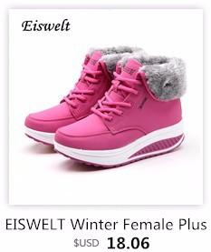 EISWELT Autumn Women Fashion Boots New Square Head Wood with Short Female Shoes Side Zipper Plaid Martin Women's Boots
