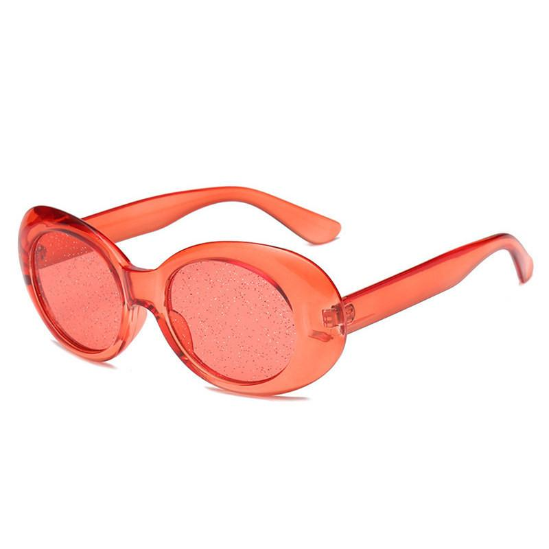 e51ba13b421 Oversized Clout Goggles Sunglasses Women Retro Clear Candy Color Oval Round Sun  Glasses Men NIRVANA Kurt Cobain Glasses Best Sunglasses Dragon Sunglasses  ...