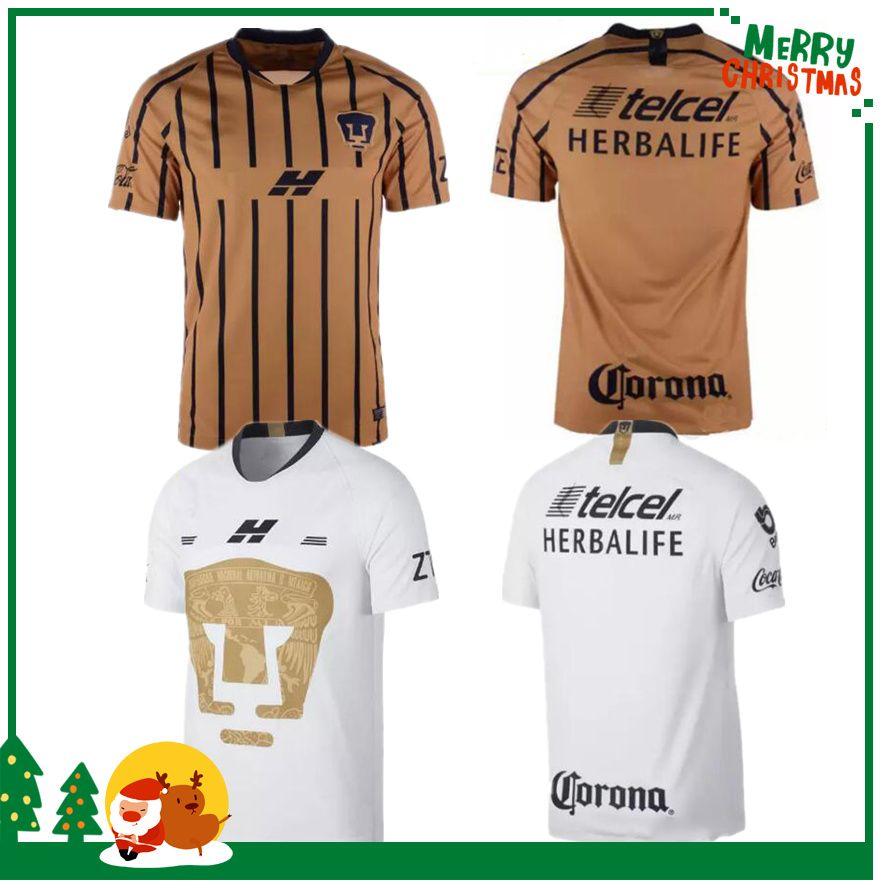 08795c8d30 2019 2018 2019 MEXICO Club LIGA MX NEW UNAM Universidad Nacional Van Rankin  Soccer Jerseys MARTINEZ BRITOS HACHITA SOSA Custom Football Shirt From ...
