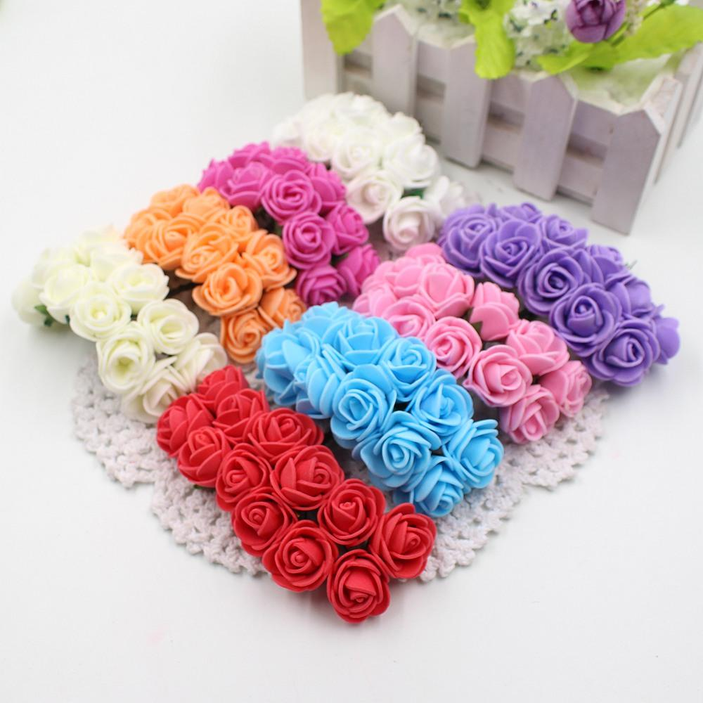 Buy cheap decorative flowers wreaths for big save 2cm mini foam buy cheap decorative flowers wreaths for big save 2cm mini foam rose artificial flower bouquet multicolor rose wedding flower decoration scrapbooking izmirmasajfo