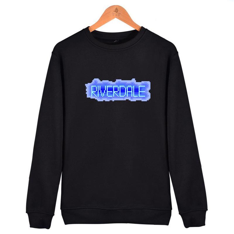 Acheter Hot Fashion Col Rond Vetements Riverdale Hoodies Imprimer