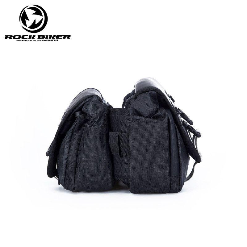 ROCKBIKER Motorcycle Twin Pack saddle bag motocross waterproof oil tank alforjas para moto off road motorbike bag mochila motociclista