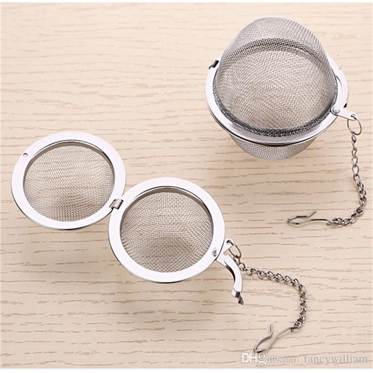Multifunctional Tea Tools 4.5/5.5/7.0CM Spherical Round 304 Stainless Steel Mesh Tea Infuser/Ball