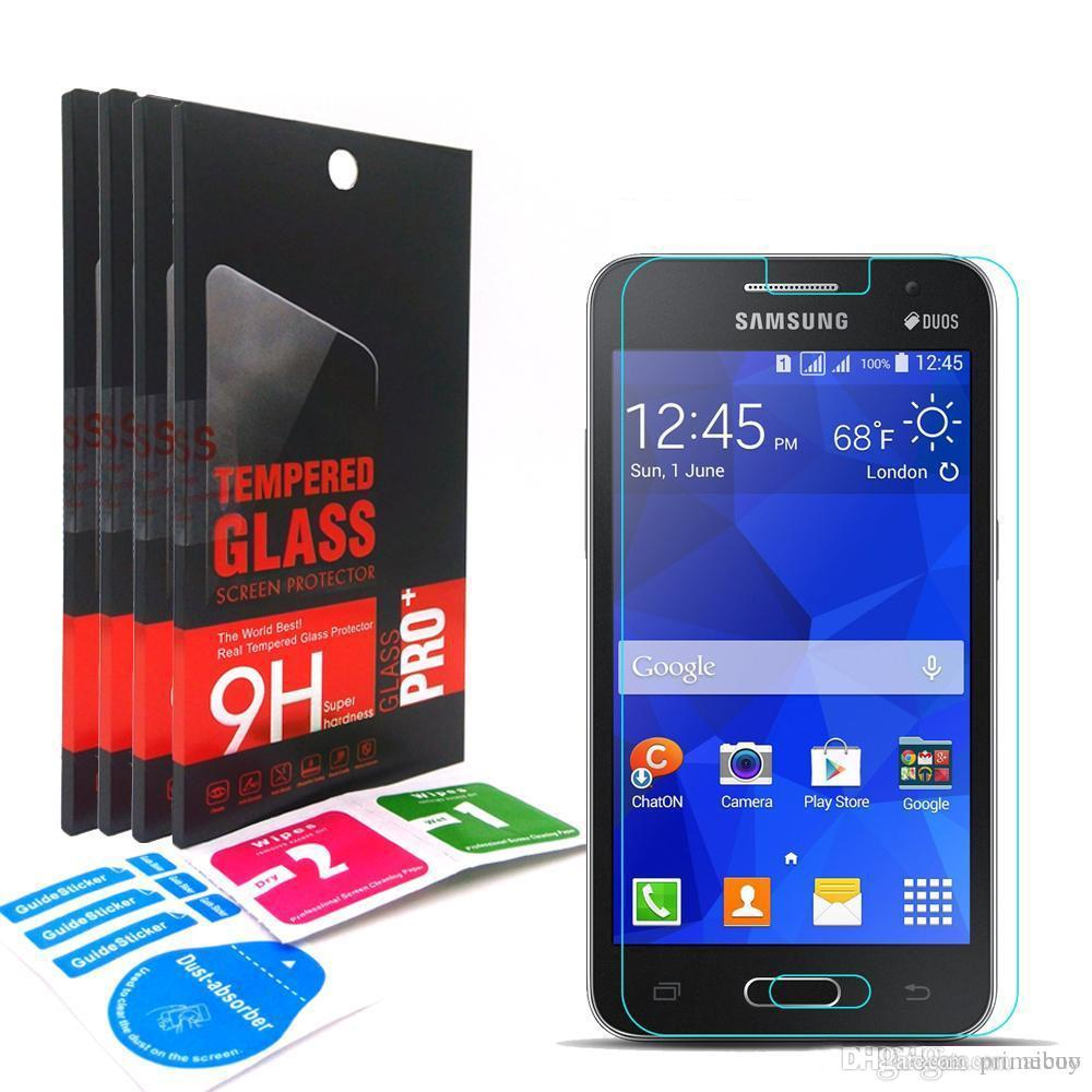 9h 033mm 25d Tempered Glass Screen Protector For Samsung Galaxy Sansung Star Duos Pro S7262 Ace4 G313 S 2 S7582 Mega G750 G357fz Best Phone