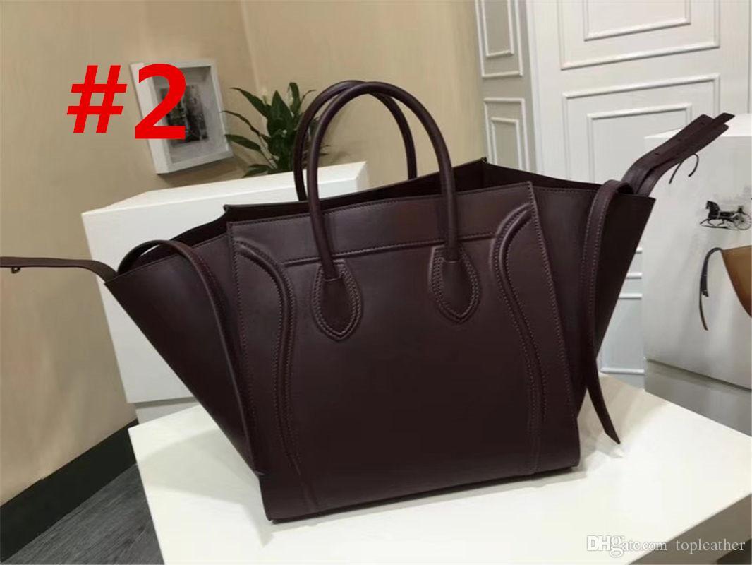 9fa50b38b618 New luxury brand fashion big bags calfskin lamb skin leather womens jpg  1066x800 Lamb leather handbags