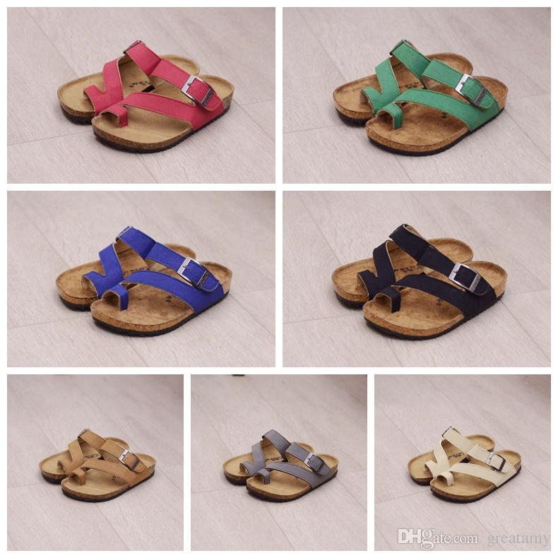 8c2de3ffb Hot Sale Kids Sandles Flip Flops Sandals Beach Antiskid Slippers PU Leather  Slipper Buckle Sandals Unisex Boys Sandals Buy Kids Boots Boots For Kids  Online ...