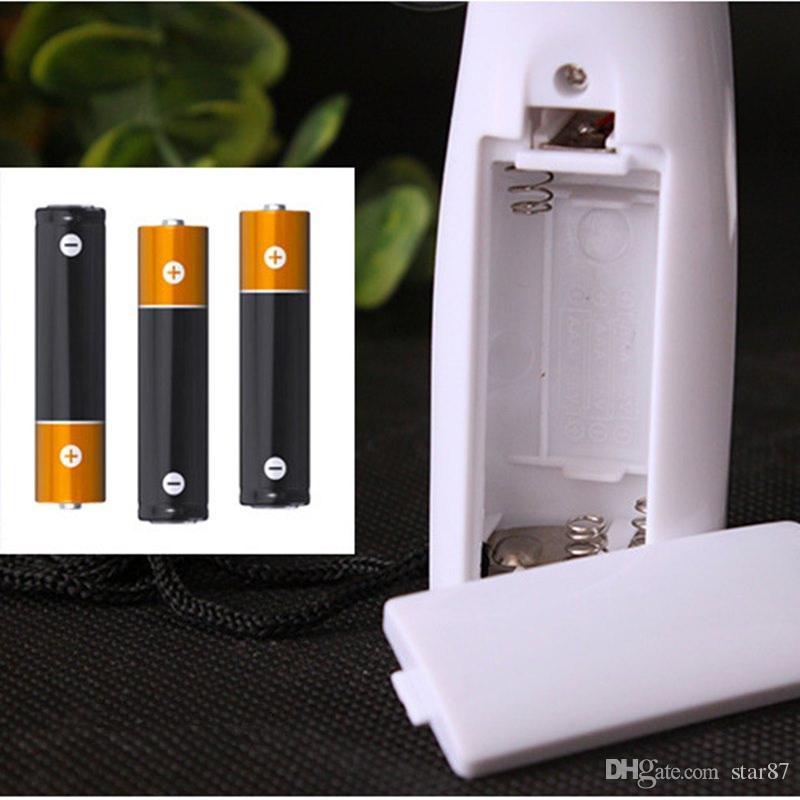 USB Gadgets Mini DIY Programmable Fan Flexible USB LED fan Blade Blue/Red/Green Light Cool Gadget Hot Selling DHL