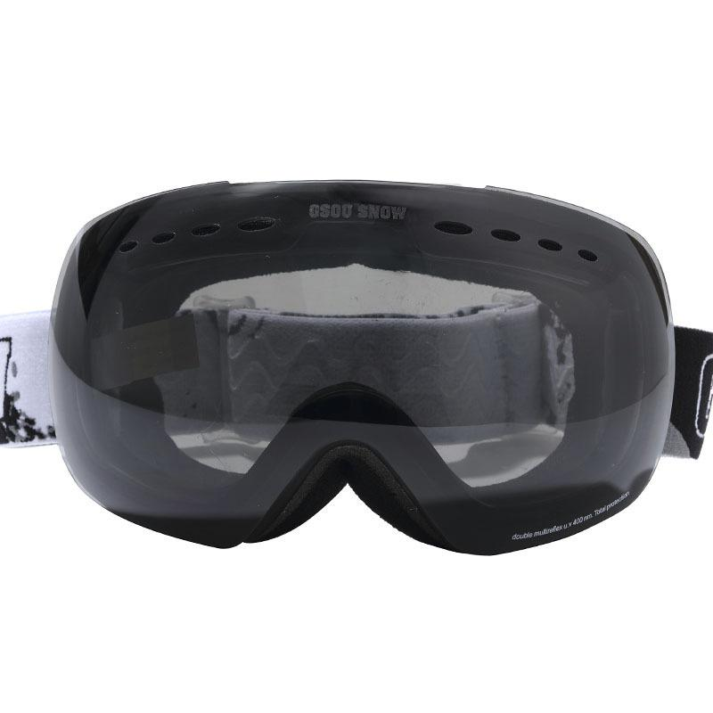 GSOU SNOW ski goggles double anti fog UV large spherical Cocker glasses for men and women
