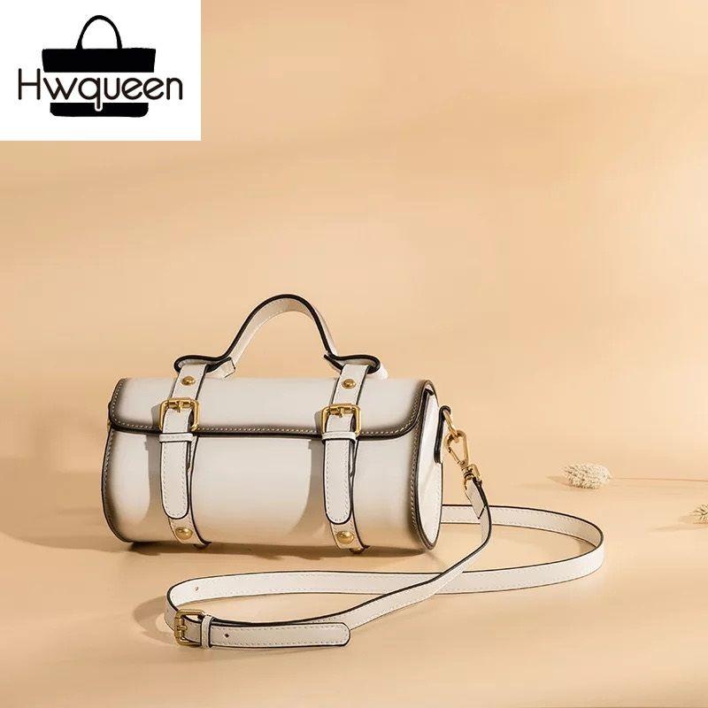 7ed93f0bb15 Vintage Designer Satchels Women Pillow Purse Genuine Leather Female  Shoulder Sling Bag OL Lady Tan Handbag Small Messenger Bag Ladies Handbags  Leather ...