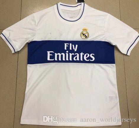 New 2019 Classic Real Madrid Retro Maillot De Foot Camiseta Asensio  FutboChampions De League Liga Patch Soccer Jerseys Football Shirt Real  Madrid New Real ...