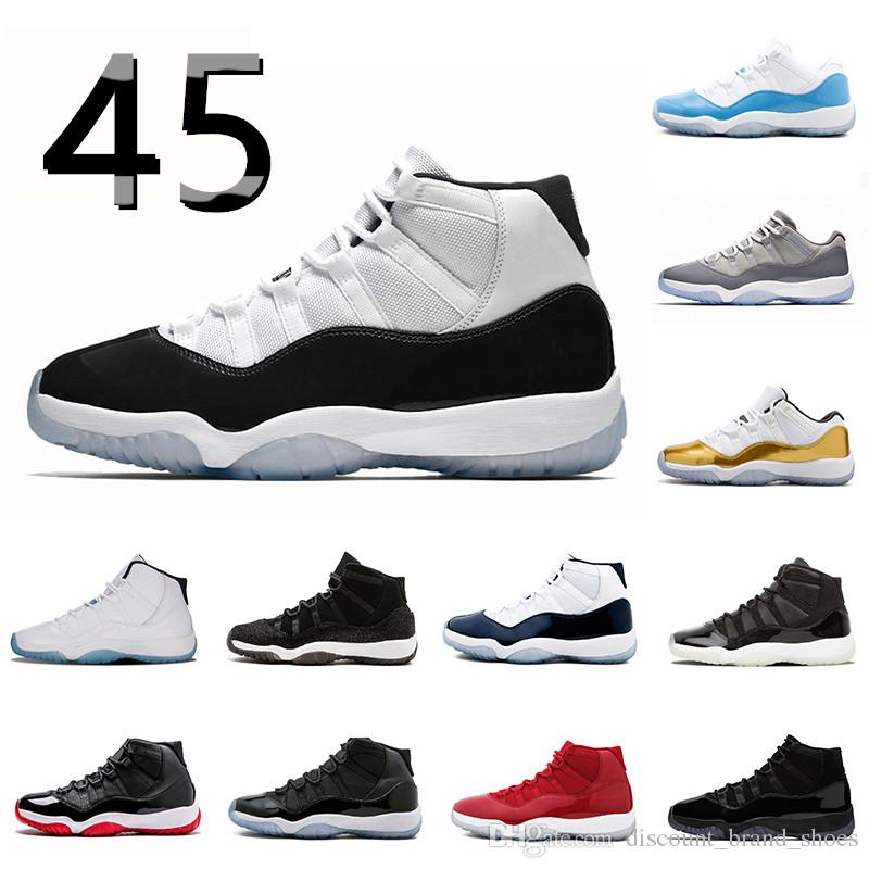 16f4a8f494be Cheap 11 Concord High 45 Basketball Shoes 11s Women Men PRM Cap And ...
