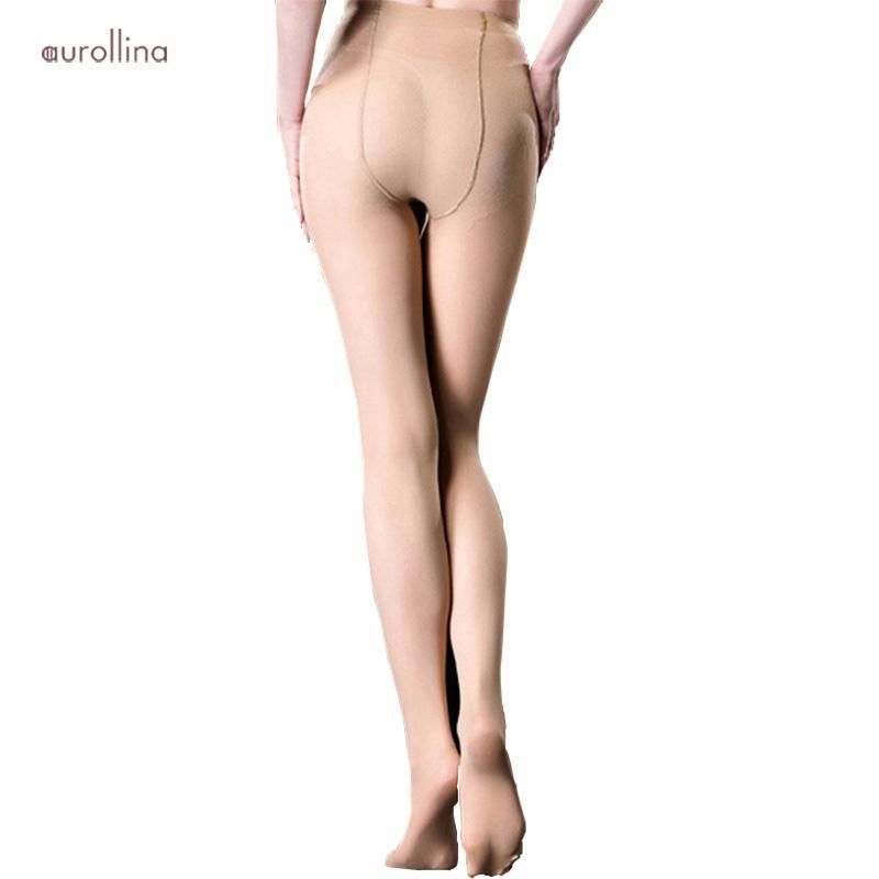 c2944099e Medias de compresión de adelgazamiento instantáneo 40D Control opaco grueso  de invierno de las mujeres Top Body Shaping Calzas Leggs medias ...