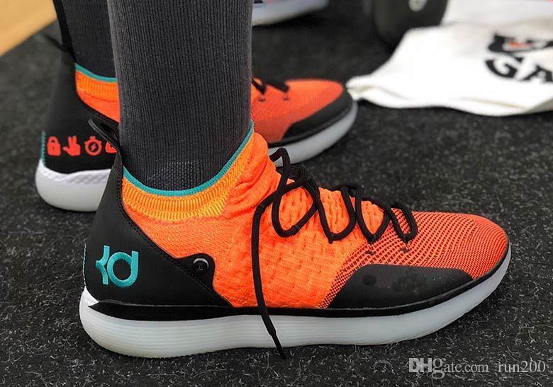 cheaper bb02a fcd44 Top Quality KD 11 Emoji Cheap Sale With Box New Kevin Durant 11 Academy  Basketball Shoes Store Size40 46 Online Shoes Cheap Shoes From Run200, ...