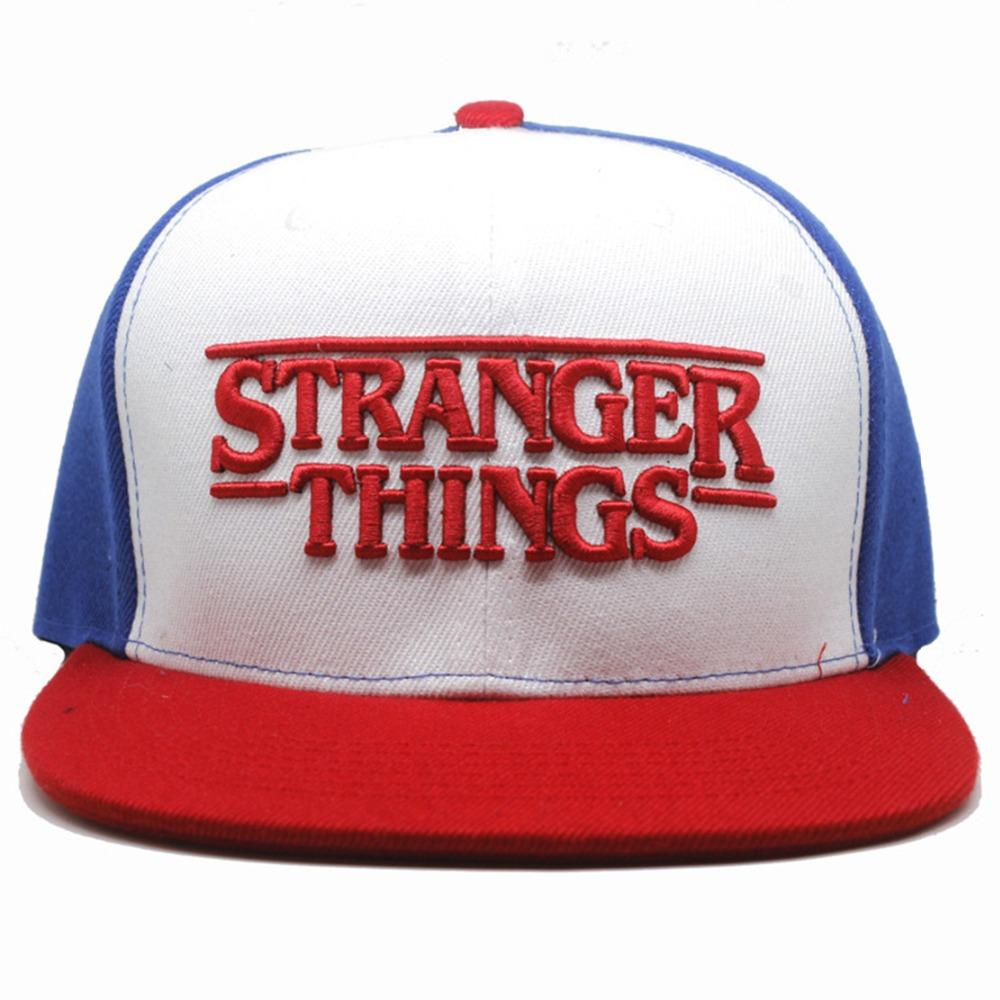 Stranger Things Cosplay Hat Fashion Personality Casual Hip Hop Exquisite  Embroidery Adult Baseball Cap Adjustable Sunshade Hats Caps Hats Fitted Cap  From ... 30816716f