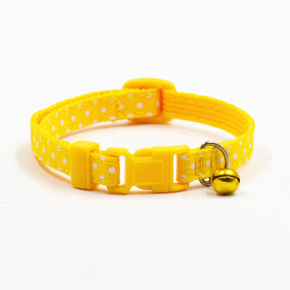 Hot Sale Safety pet collars Hot Cute Bell Collar Small Dog Collar Cat Collars Adjustable