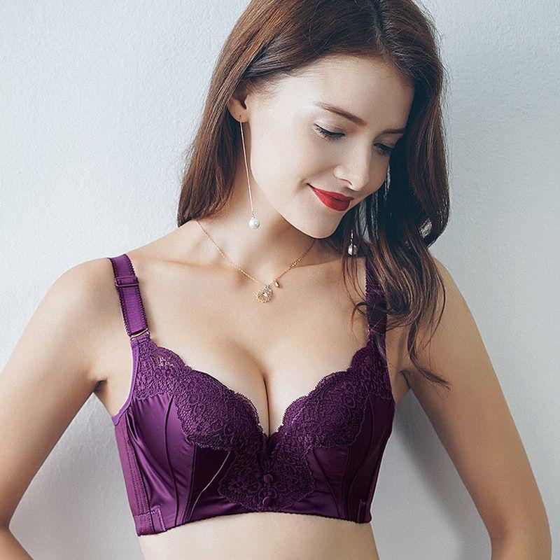 9dcbd97c63c05 New Fashion Summer Spring Women Underwear Quality 3 4 Cup Push Up ...