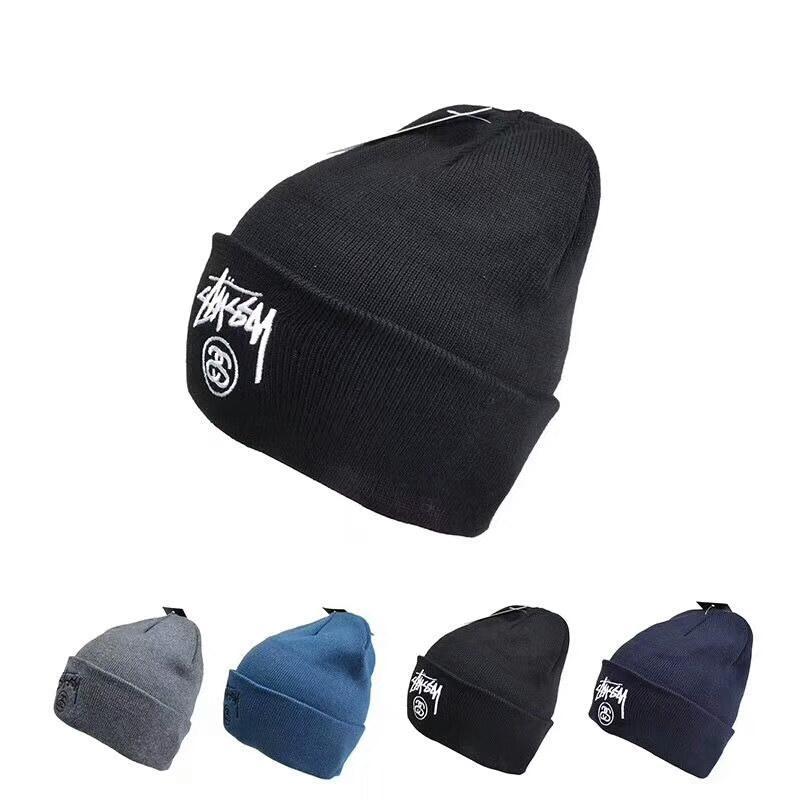 Fashion Design Skull Caps Trendy Luxury Brand Men s And Women s ... a02f837f73f
