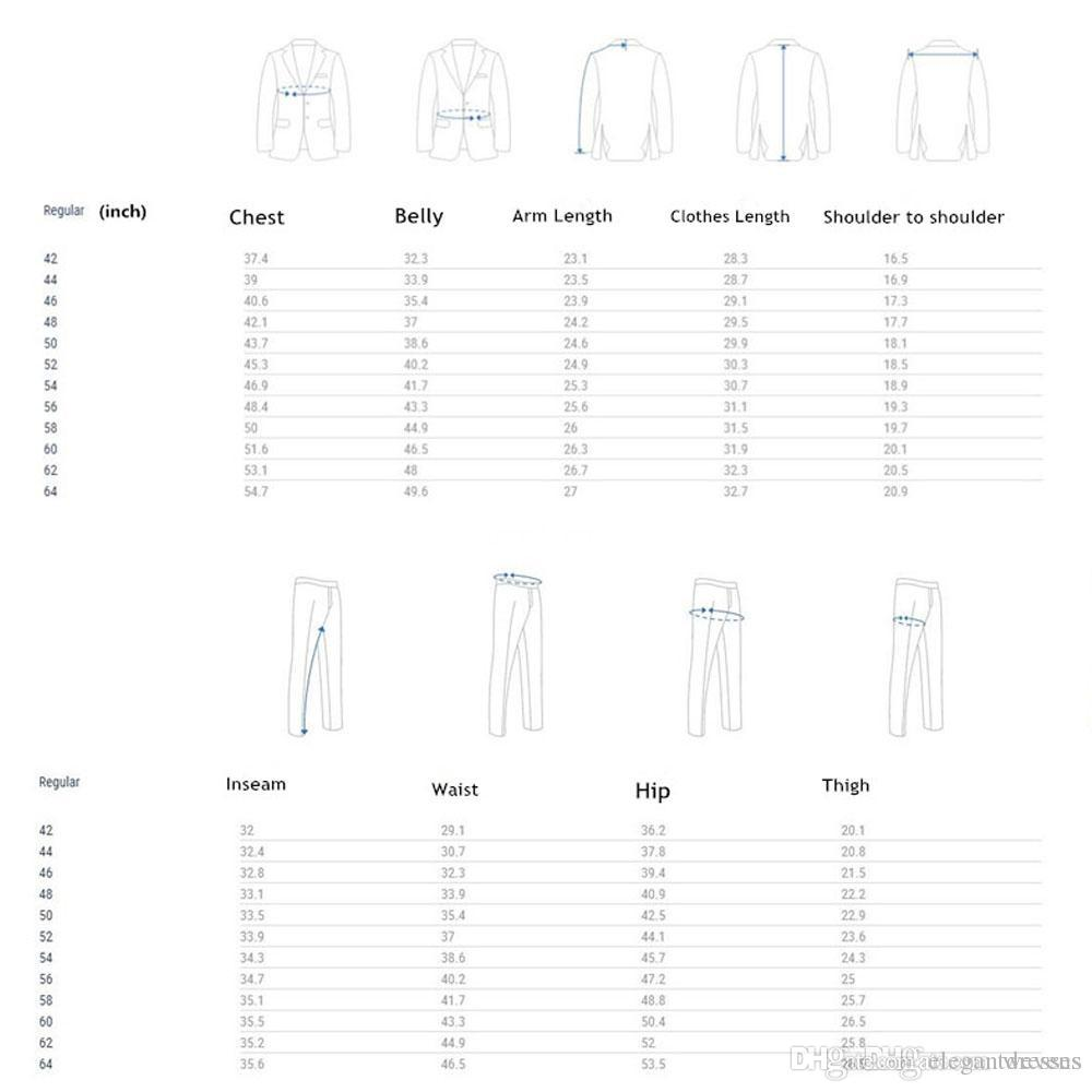 2018 Novos Homens Da Moda Smoking Casamento Slim Fit Custom Online Ternos de Lapela Formal Para Homens Botão Formal de Negócios Noivo Terno Jaqueta + Calça