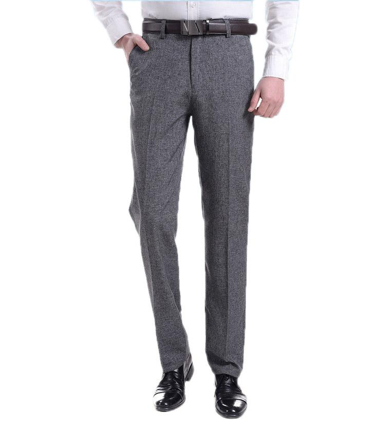 eb3b62734ce Summer Fashion Breathable Trousers Linen Pant Men's Loose Casual Pants  Breathable Business Work Pant Straight Overall Plus Size