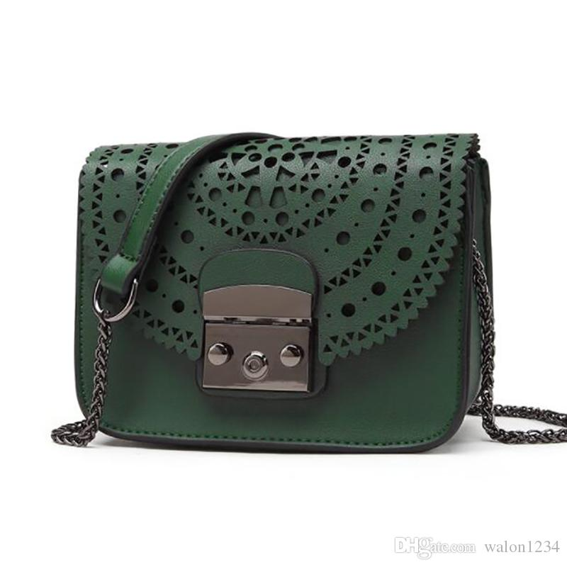 Fashion Small Bag Hollow Out Women Crossbody Bag Soft Leather Handbags  Women Clutch Purse Brand Shoulder Bags Womens Purses Evening Bags From  Walon1234 2afadaad4