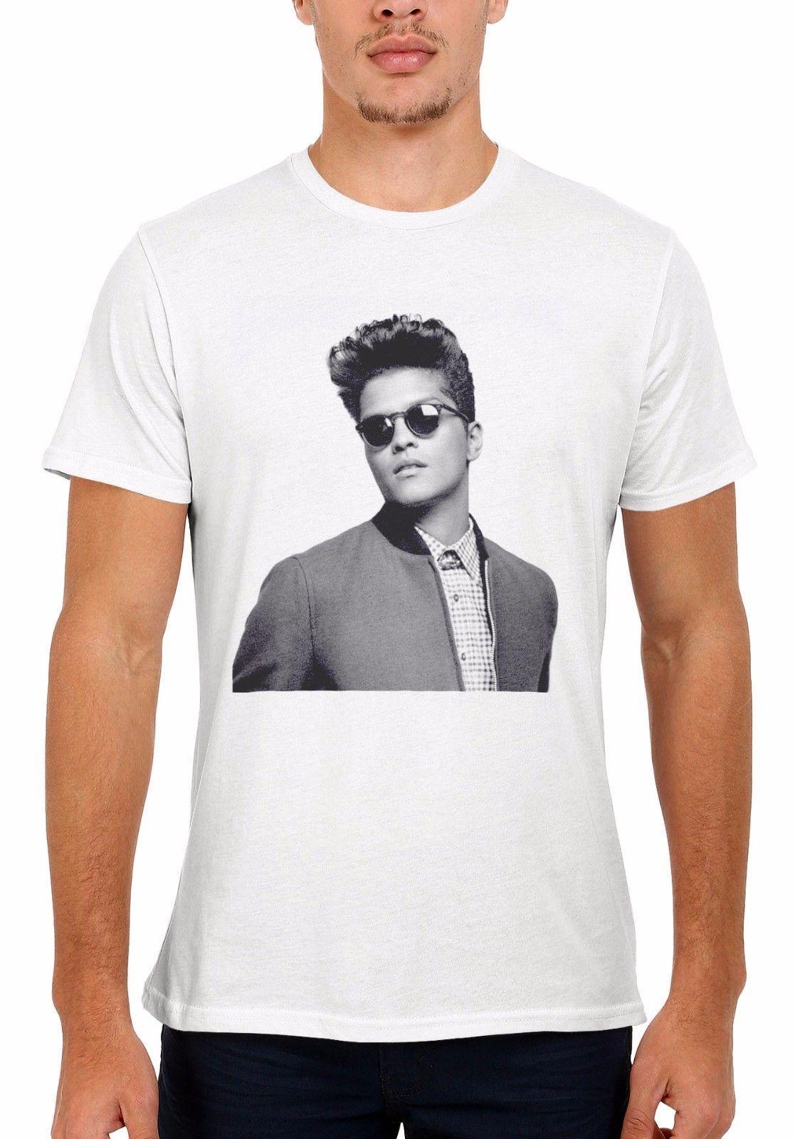 Compre Bruno Mars Singer RB Funk Pop Soul Hombres Mujeres Chaleco Camiseta  Sin Mangas Camiseta Unisex 1959 Hipster O Cuello Tops Geniales Hip Hop  Manga ... 2962a9ecc22