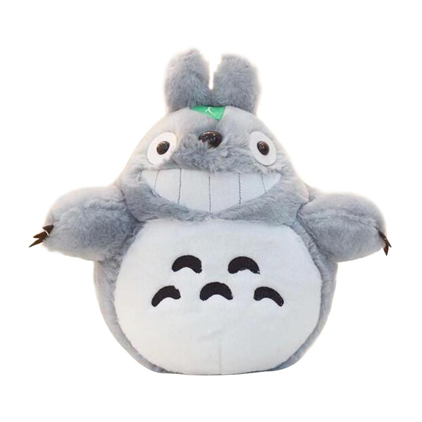 Cartoon Stuffed Animal 60cm Famous Cartoon Totoro Plush Toys Smiling Soft Stuffed  Toys High Quality Dolls Factory Price In Stock UK 2019 From Okbrand 212506954