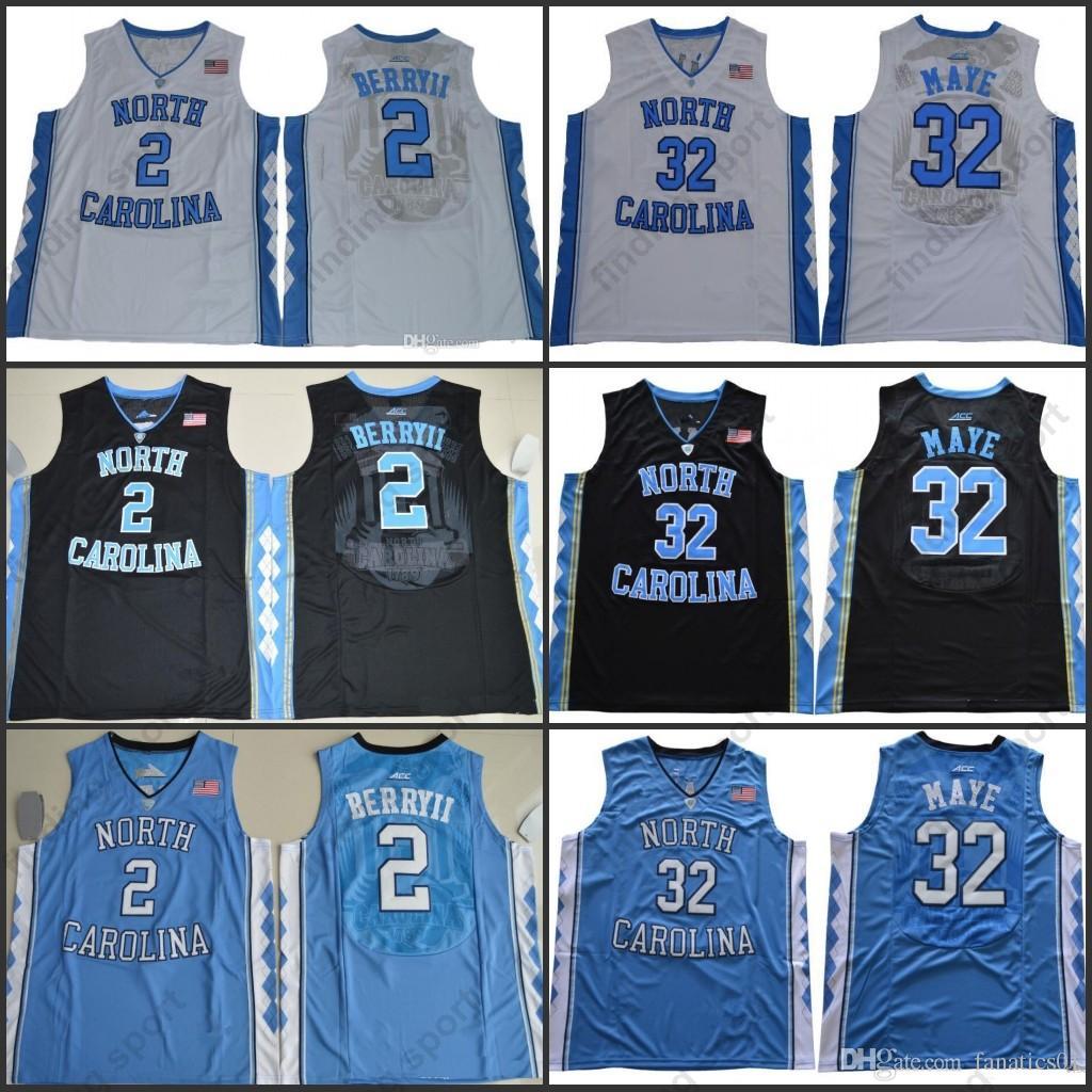 NCAA Mens North Carolina Tar Heels  32 Luke Maye 2 Joel Berry II 15 Carter  23 40 Barnes UNC Basketball Jerseys Online with  23.67 Piece on  Fanatics01 s ... 35ee8bdd2