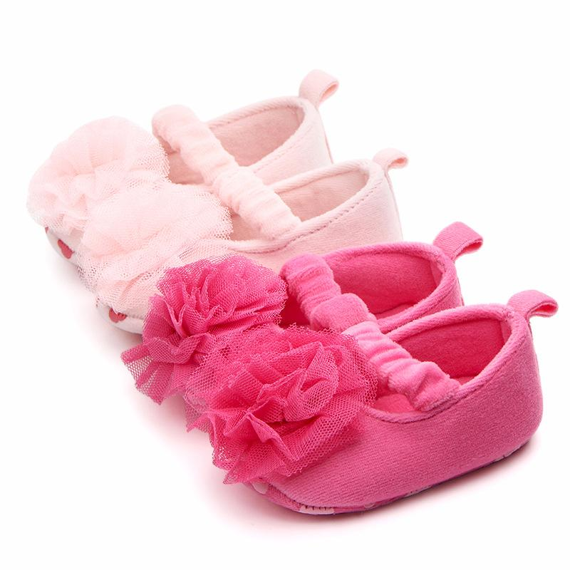 1f012bcf4270 2019 New Fashion Baby Girl Shoes Princess Casual Shoes Soft Sole Non Slip Infant  Footwear Toddler Mary Jane Flats With Flowers 0 18 M From Orchidor, ...