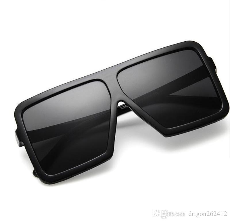 24e1c29a55 2018 European And American Style Women Sunglasses Luxury Oversize Sun  Glasses Big Frame Beach Eyewear Fashion Goggle Serengeti Sunglasses Sun  Glasses From ...