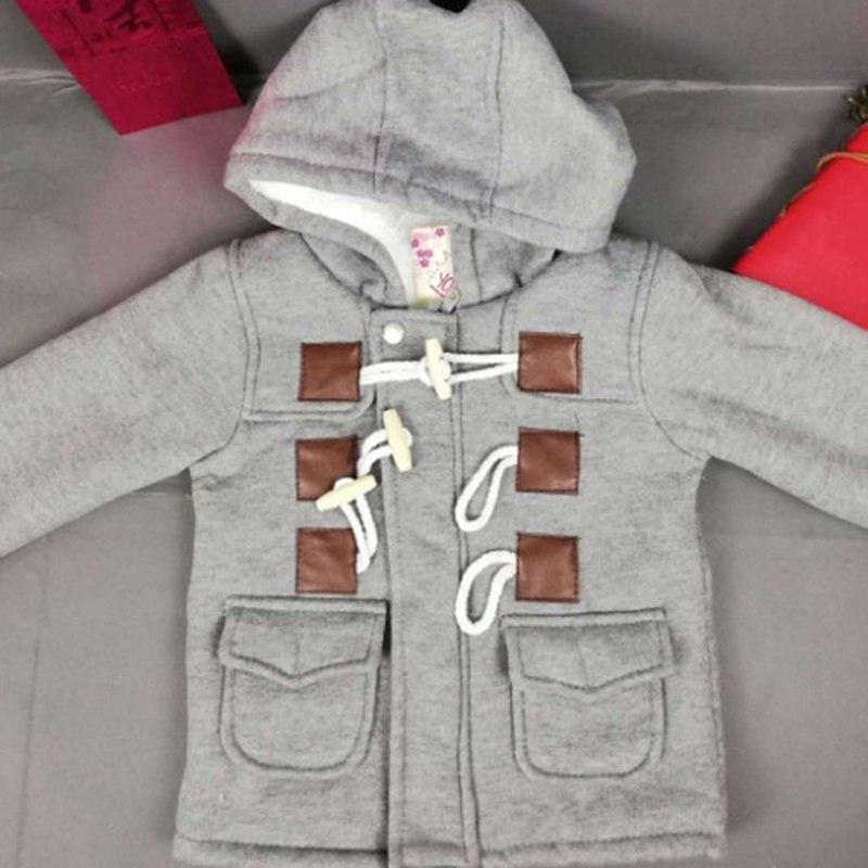 55c0332b5 Outerwear Coat Thick Kids Snowsuit Clothes Grey Children Clothing ...